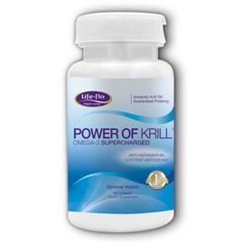 Life-Flo Power of Krill, Antarctic Krill Oil, 60 Softgels, LifeFlo