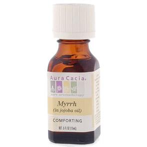 Precious Essential Oil Myrrh w/Jojoba .5 fl oz from Aura Cacia