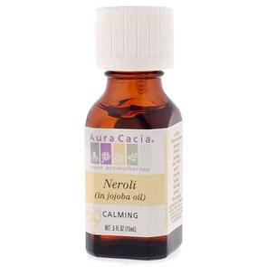 Precious Essential Oil Neroli w/Jojoba .5 fl oz from Aura Cacia