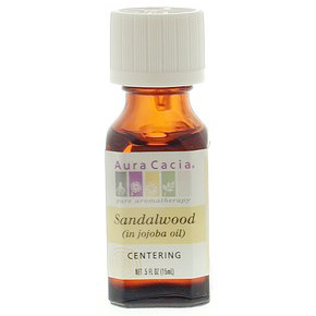 Precious Essential Oil Sandalwood w/Jojoba .5 fl oz from Aura Cacia