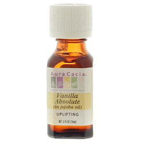 Precious Essential Oil Vanilla Absolute w/Jojoba .5 fl oz from Aura Cacia