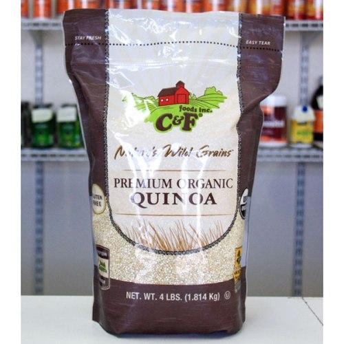 Premium Organic Quinoa, 4 lb (1.8 kg), C & F Foods