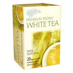 Premium Peony White Tea, 20 Tea Bags, Prince of Peace