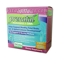 Prenatal Multivitamin + DHA, 60 Tabs + 60 Softgels, 21st Century Health Care