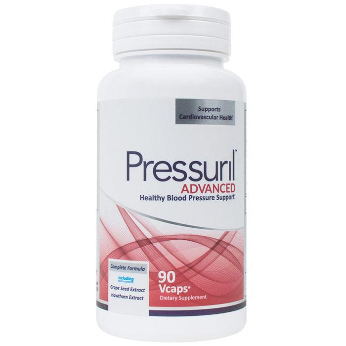 Pressuril, Advanced Healthy Blood Pressure Support, 90 Capsules, Newton-Everett