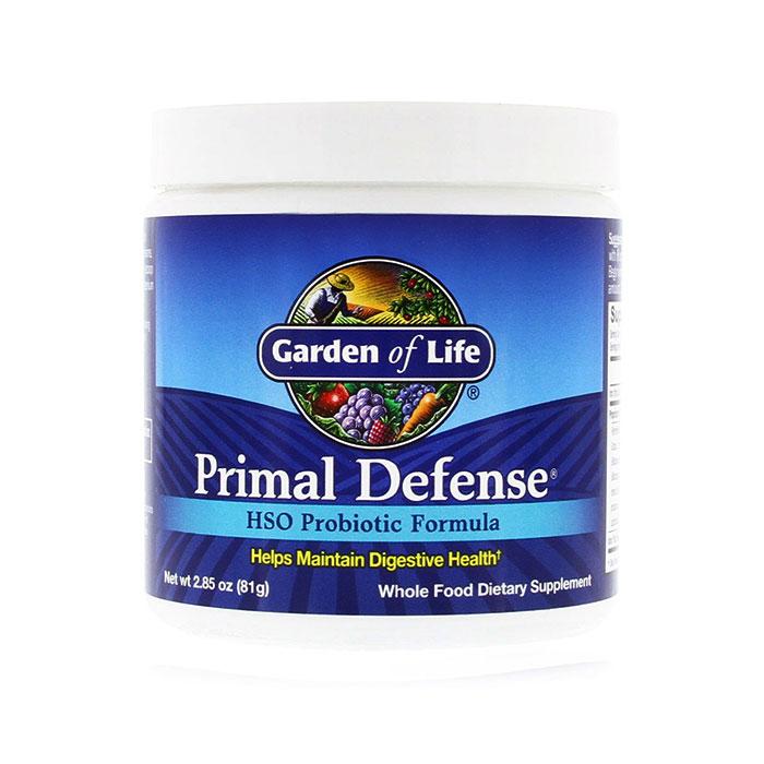 Primal Defense Powder, HSO Probiotic Formula, 81 g, Garden of Life