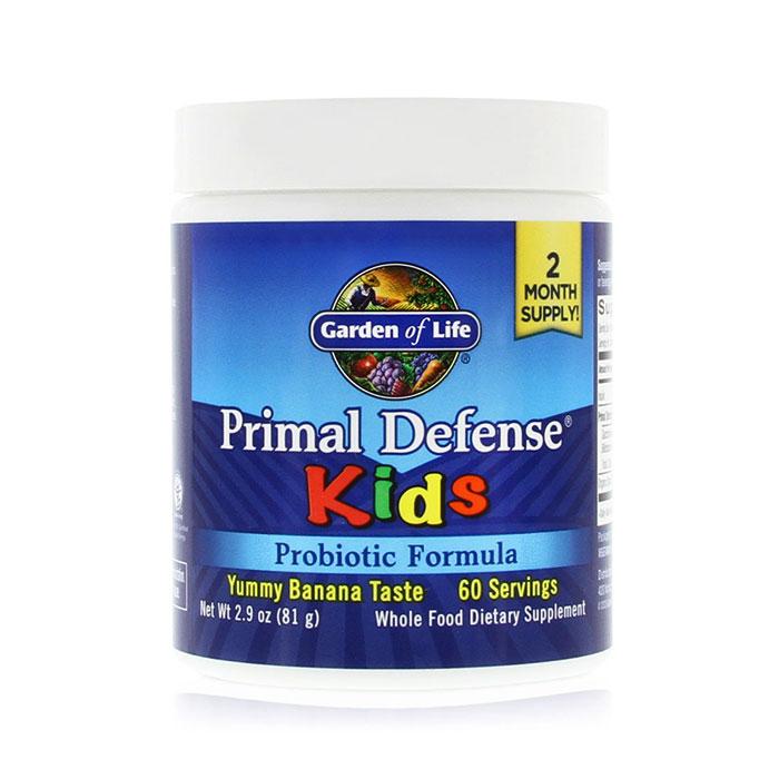 Primal Defense Kids Powder, Whole Food Probiotic, 76.8 g, Garden of Life