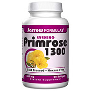 Primrose 1300, Evening Primrose Oil, 60 softgels, Jarrow Formulas