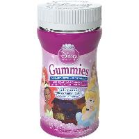 Disney Vitamins Princess Gummies, Chewable Childrens Multi-Vitamins, 60 Chews