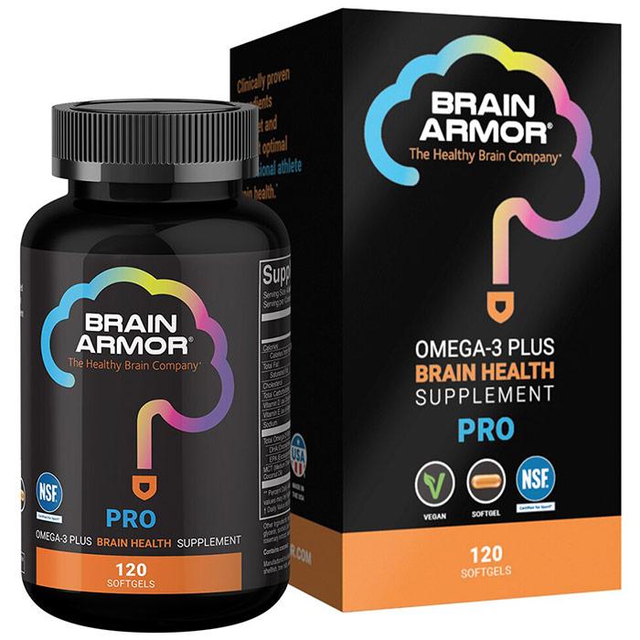 Pro Athlete Brain Nutrient Formula, 120 Softgels, Brain Armor