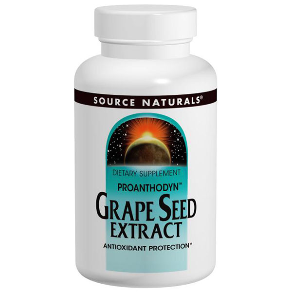 Proanthodyn Grapeseed Extract 200mg, 90 Capsules, Source Naturals