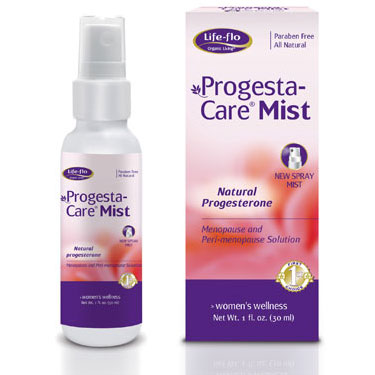 Life-Flo Progesta-Care Mist, Natural Progesterone Spray (Progesta Care) 1 oz, LifeFlo