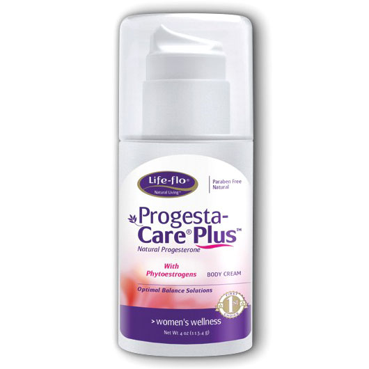 Life-Flo Progesta-Care Plus, Progesterone Cream (Progesta Care) 4 oz, LifeFlo