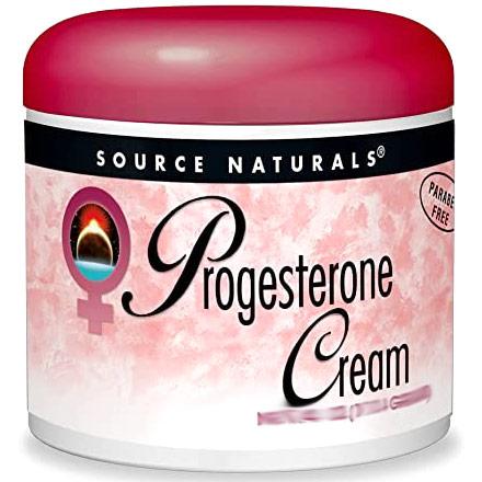 Progesterone Cream Jar Liposomal 2 oz from Source Naturals