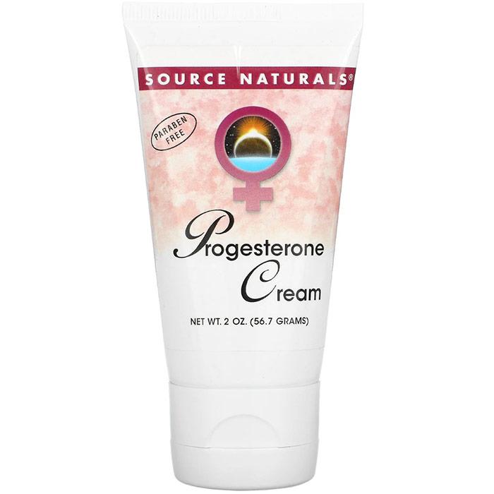 Progesterone Cream Tube Liposomal 4 oz from Source Naturals