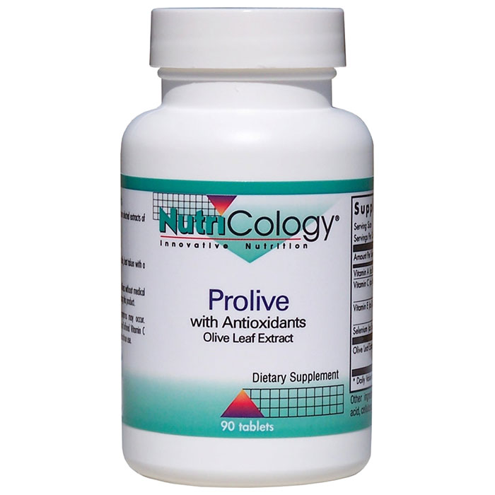 ProLive Olive Leaf Extract 90 tabs from NutriCology