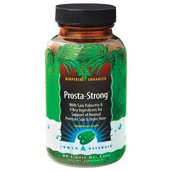 Prosta Strong, Prostate Formula, 90 Liquid Gel Caps, Irwin Naturals