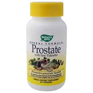 Prostate Formula with Saw Palmetto 60 caps from Natures Way