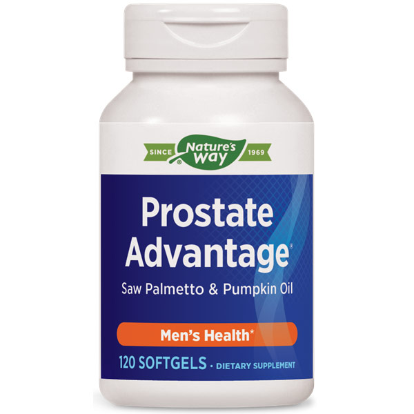 Prostate Advantage, Saw Palmetto + Pumpkin Seed Oil, 120 Softgels, Enzymatic Therapy