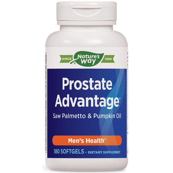 Prostate Advantage, Value Size, 180 Softgels, Enzymatic Therapy