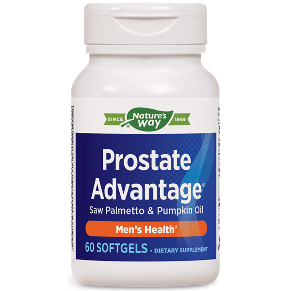 Prostate Advantage, Mens Health, 60 Softgels, Enzymatic Therapy