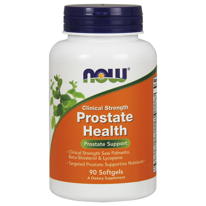 Prostate Health Clinical Strength, 90 Softgels, NOW Foods