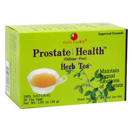 Image of Prostate Health Herb Tea, 20 Bags, Health King Herbal Tea