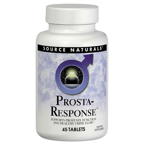 Prosta-Response for Healthy Prostate 45 tabs from Source Naturals