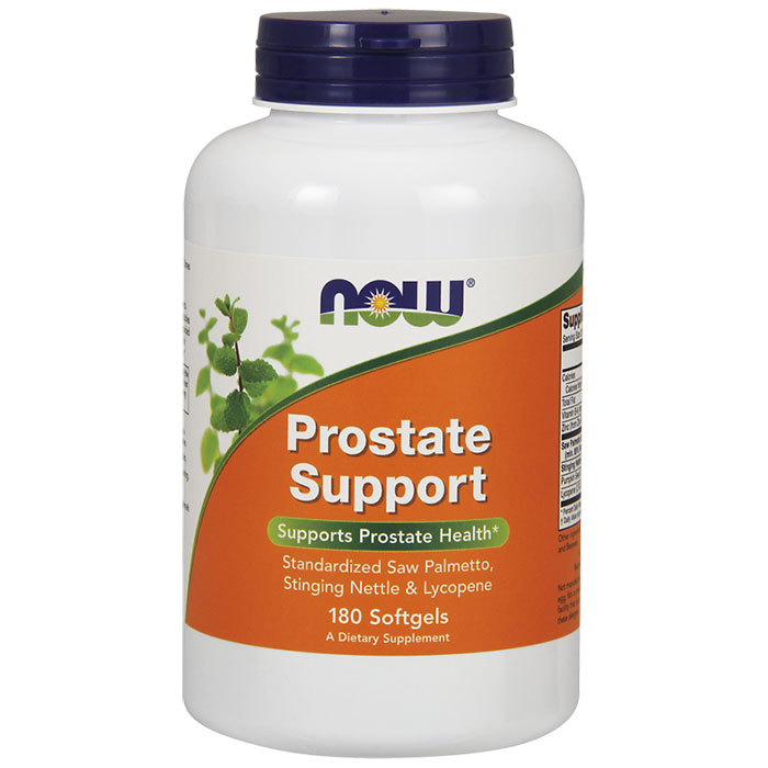 Prostate Support, Value Size, 180 Softgels, NOW Foods