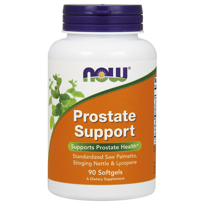 Prostate Support, With Saw Palmetto, Stinging Nettle & Lycopene, 90 Softgels, NOW Foods