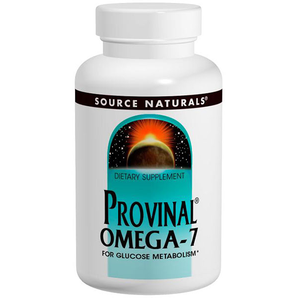 Provinal Omega-7, 30 Softgels, Source Naturals