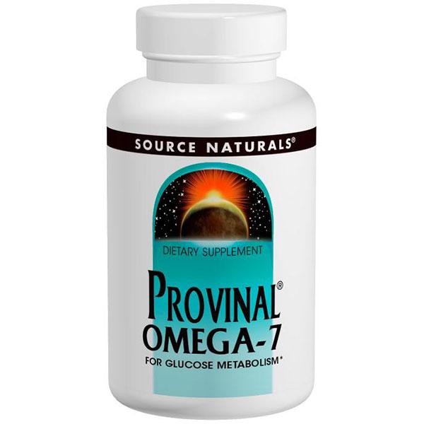 Provinal Omega-7, 60 Softgels, Source Naturals