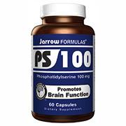 PS-100, Phosphatidylserine 100 mg 60 capsules, Jarrow Formulas