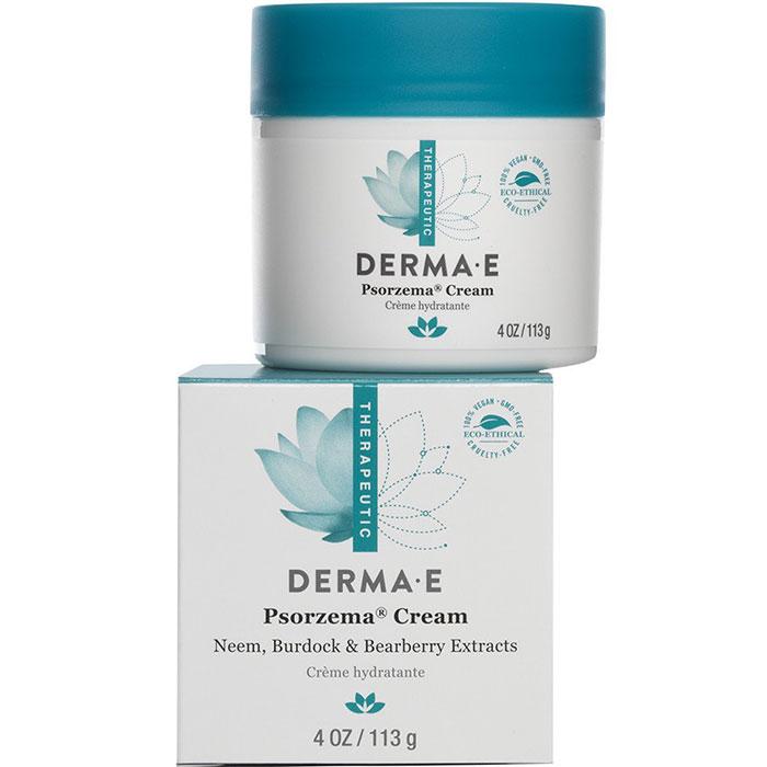 Derma E Psorzema Cream, Psoriasis & Eczema Natural Relief, 4 oz