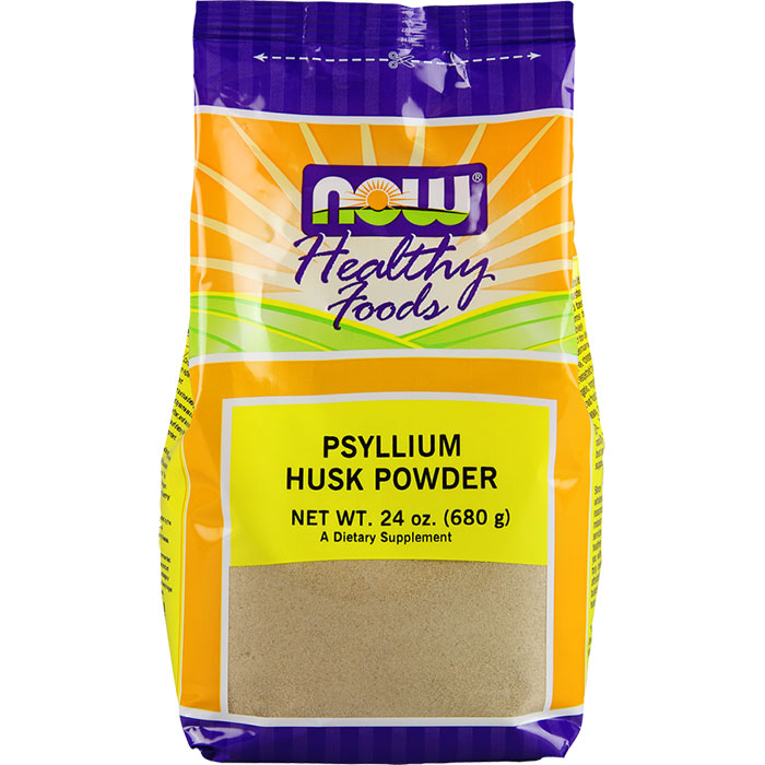 Psyllium Husk Powder, 24 oz, NOW Foods