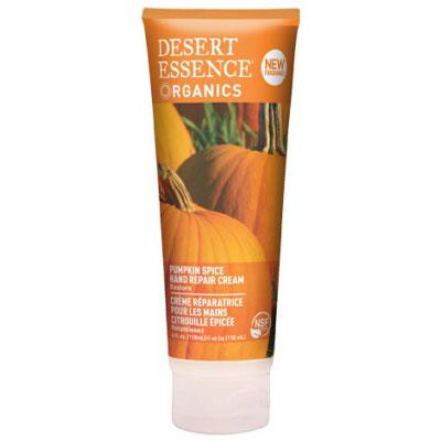 Pumpkin Hand Repair Cream, 4 oz, Desert Essence