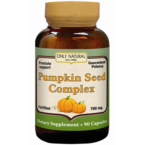 Pumpkin Seed Complex, 90 Capsules, Only Natural Inc.