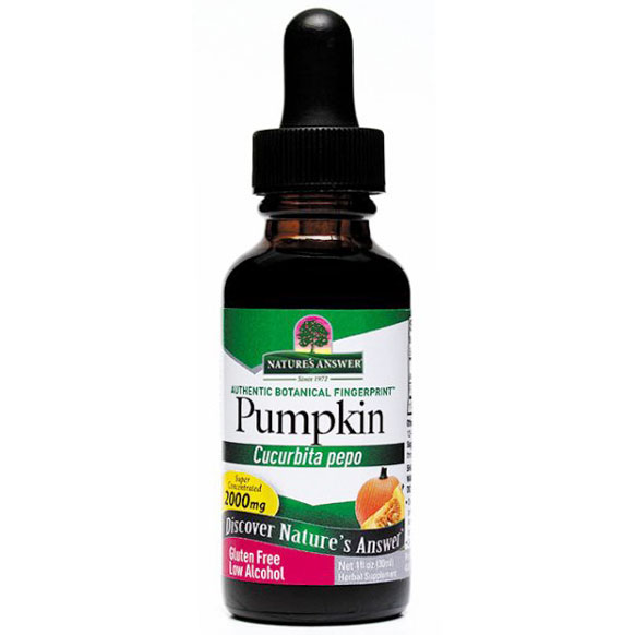 Pumpkin Seed Extract Liquid 1 oz from Natures Answer