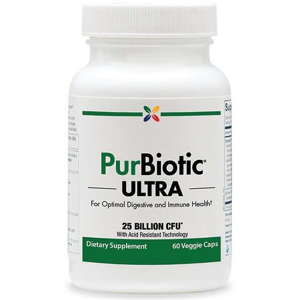 PurBiotic Ultra, For Optimal Digestive & Immune Health, 60 Veggie Caps, Stop Aging Now