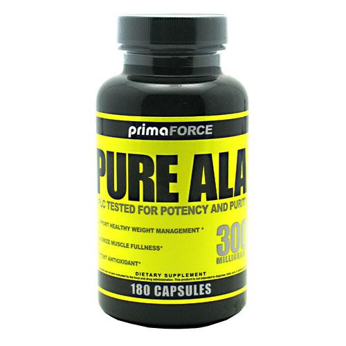Pure ALA 300 mg, 180 Capsules, PrimaForce
