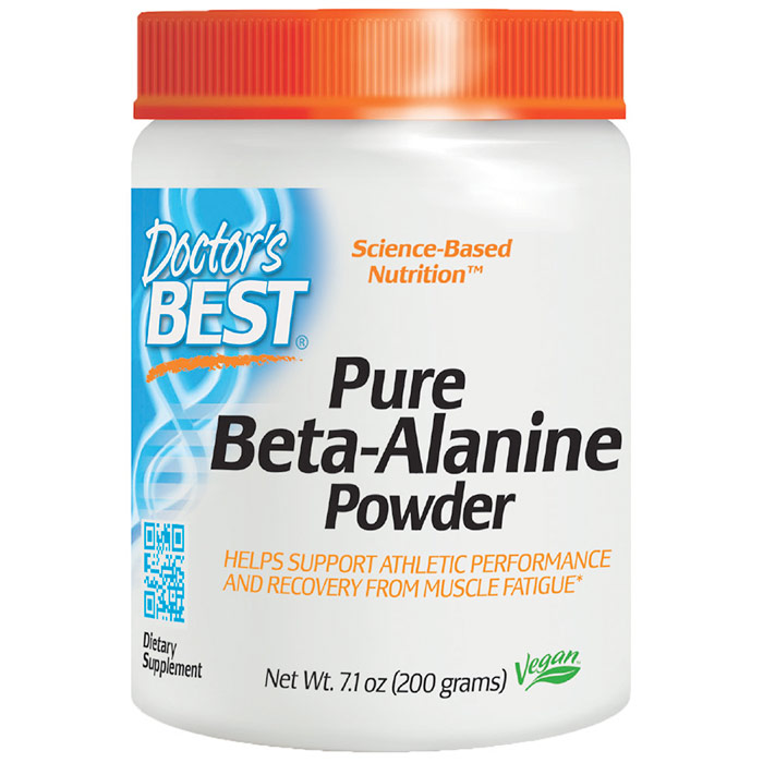 Pure Beta-Alanine Powder, 200 g, Doctors Best