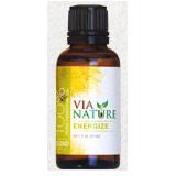 100% Pure Essential Oil Blend, Energize, 1 oz, Via Nature