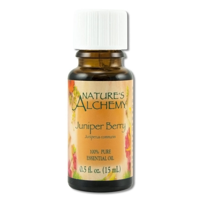 Pure Essential Oil Juniper Berry, 0.5 oz, Nature's Alchemy