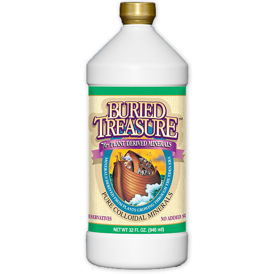 Pure Minerals Liquid, 32 oz, Buried Treasure Liquid Nutrients