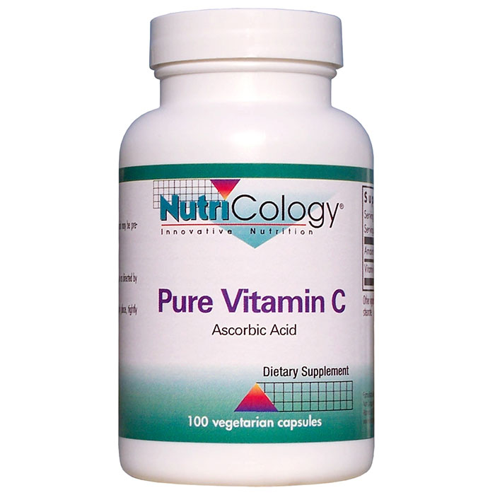 Pure Vitamin C 1000 mg 100 Capsules from NutriCology