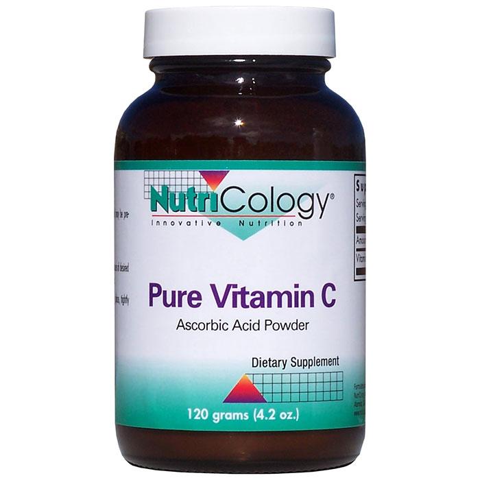 Pure Vitamin C Ascorbic Powder 120 gm from NutriCology