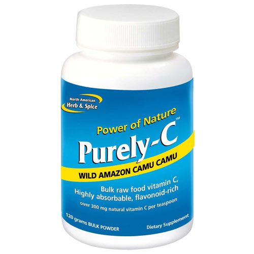 Purely-C Bulk Powder, 120 g, North American Herb & Spice