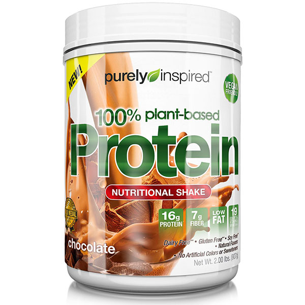 Purely Inspired 100% Plant Based Protein - Chocolate, 2 lb