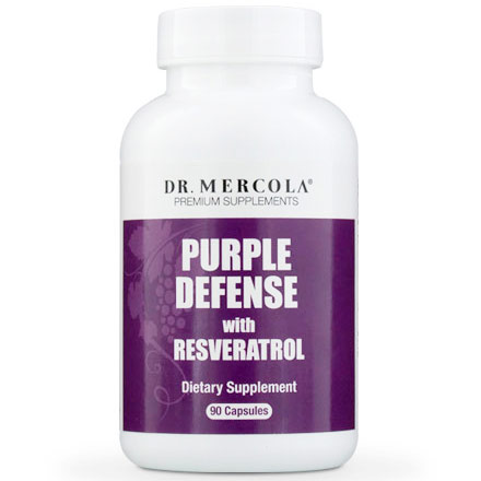Purple Defense, Value Size, 90 Capsules, Dr. Mercola