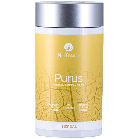 Purus, Supports Cardio Health, 90 Capsules, NHT Global